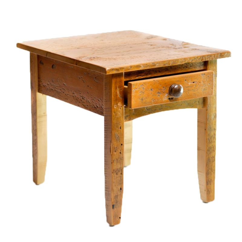 Barn Board End Table