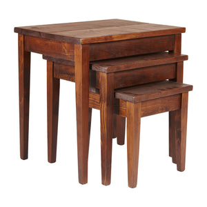 Barn Board Nesting Tables