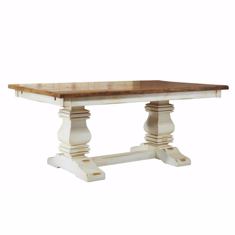 Barn Board Parsons Table