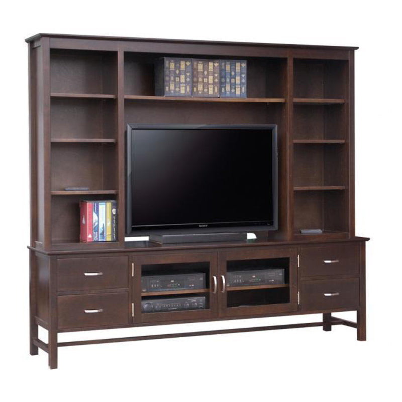 Brooklyn HDTV Stand with Hutch