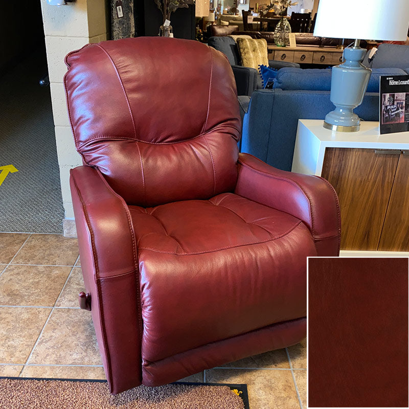 Yates Rocker Manual Recliner - Grade 3000 Leather