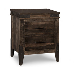 Chattanooga 2 Drawer Nightstand