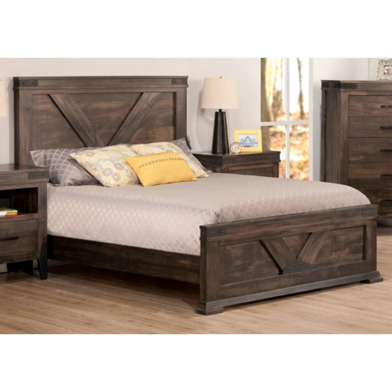 Chattanooga Bed with Footboard (High or Low Options)