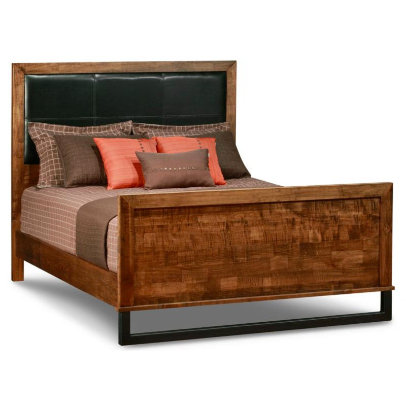 Cumberland Bed with High Footboard