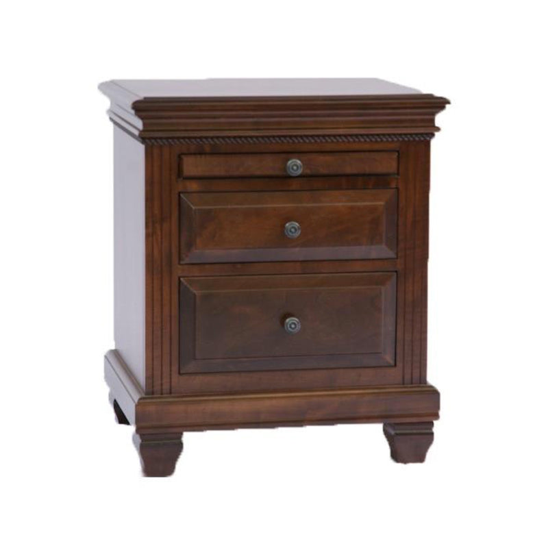 Florentino Nightstand with Pullout Tray