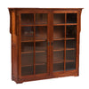 Mission 2 Door Bookcase