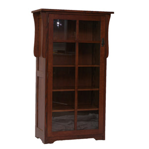 Mission 1 Door Bookcase