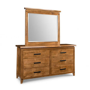 Pemberton 6 Drawer Dresser with Landscape Mirror