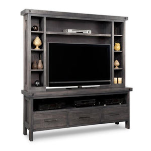 Rafters HDTV Stand with Hutch