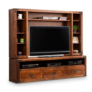 Saratoga HDTV Stand with Hutch