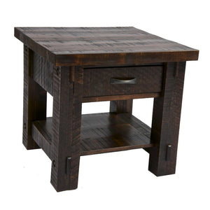 Timber End Table