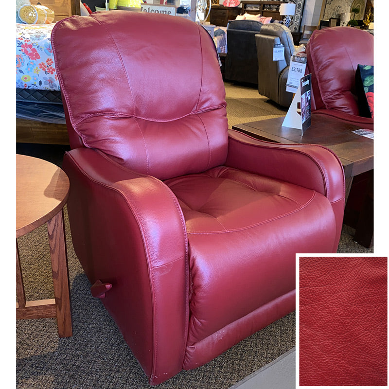 Yates Rocker Manual Recliner - Grade 1000 Leather