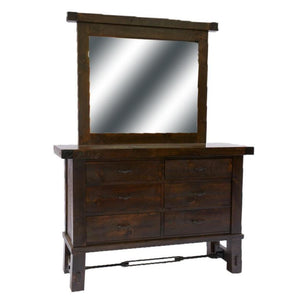 Yukon Dresser with Landscape Mirror
