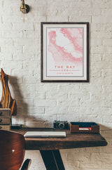 San Francisco Map Print. Fine Style.
