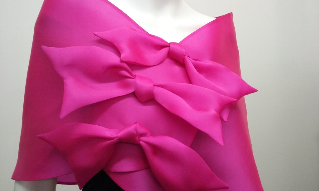 Wrap with Three Bows