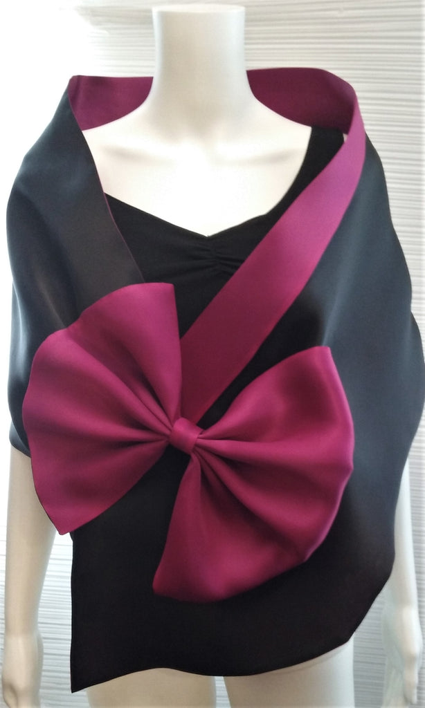 Evening Wrap  with Large Bow