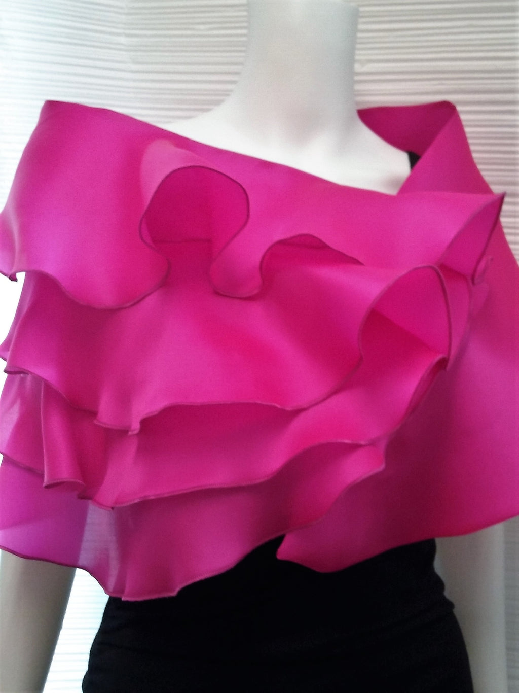 Four Ruffle Wrap