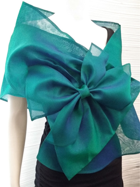 Organza Evening Wrap