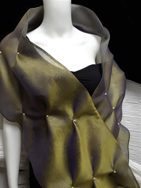 Organza Evening Wrap/Scarf