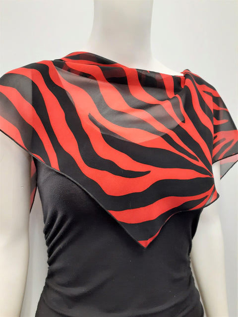 Triangle Tiger Scarf