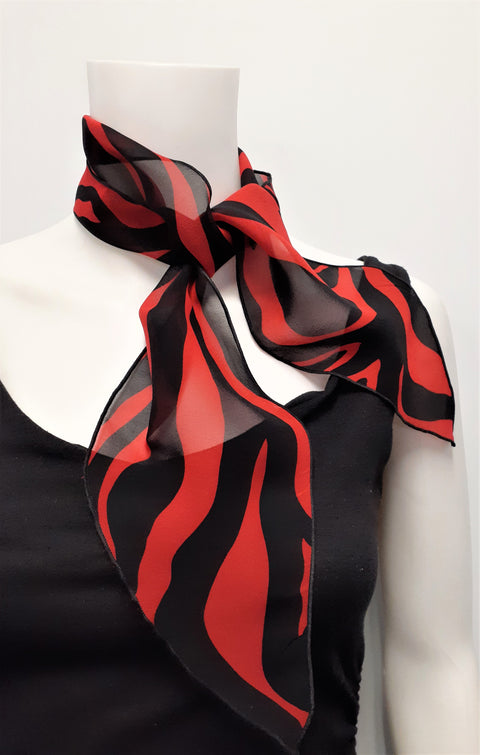 Red & Black Neckerchief