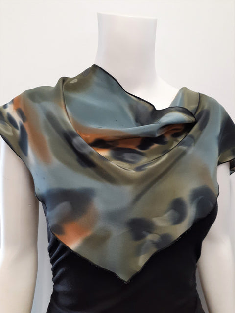 Abstract Triangle Scarf