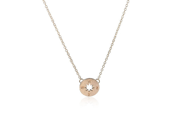 Guide Me Compass Necklace