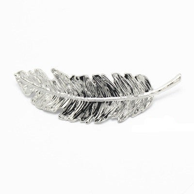 Athena's Feather Hair Clip