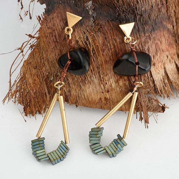Wild & Free Natural Stone Earrings