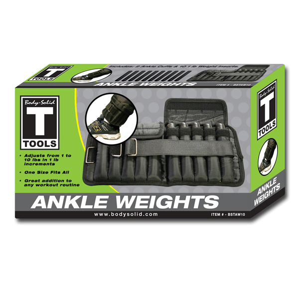 Ankle Weights 10Lb (Pair) - External Strength