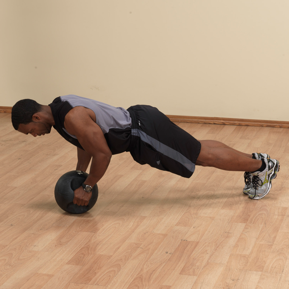 Dual Grip Medicine Ball 18 - External Strength