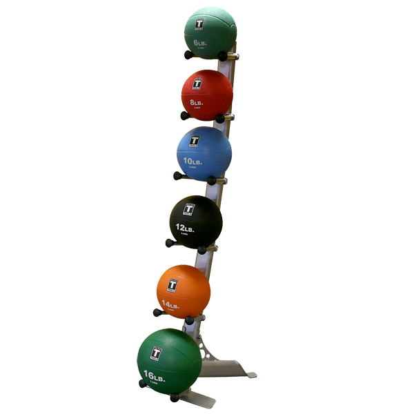 Medicine Ball Rack + Medicine Balls - External Strength