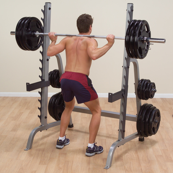 Squat Stand With Gunrack - External Strength