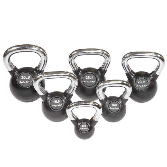 Kettle Bell Set, 5-30 Singles - External Strength