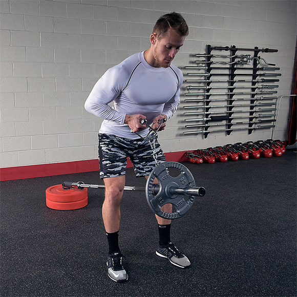 Landmine Plate Pivot - External Strength
