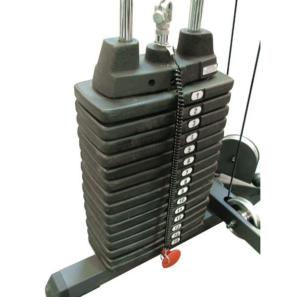 Optional 50Lb Selectorized Weight Stack Upgrade - External Strength