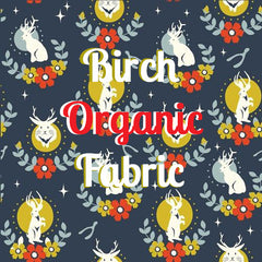 Order Birch organic fabric online here at Spindle and Rose.