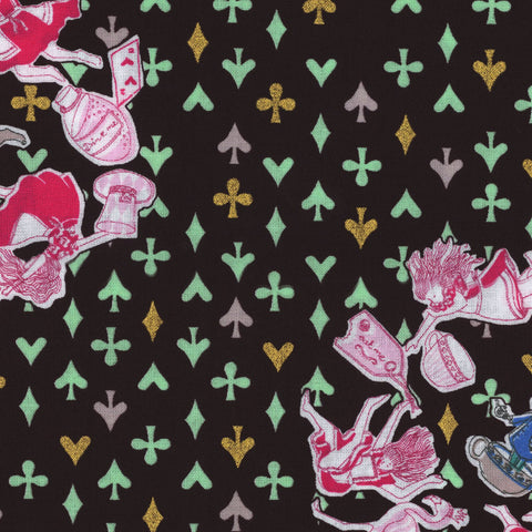 Unique Alice in Wonderland Fabric from Japan