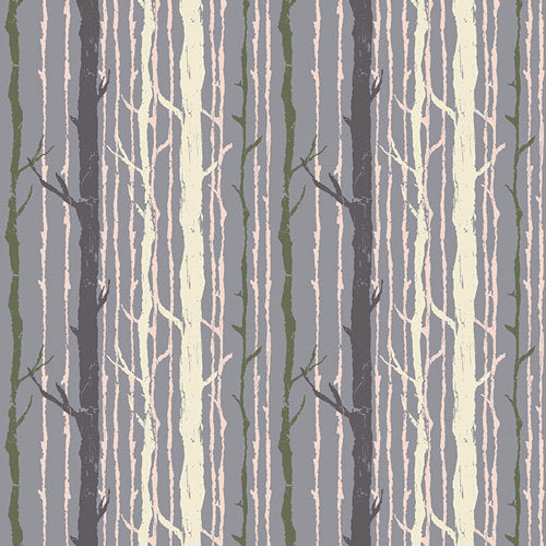 Lavender trees on cotton from Art Gallery Fabrics - view 1