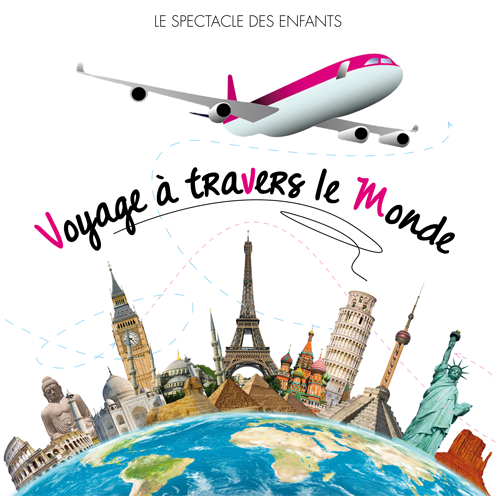 DVD - Voyage à travers le Monde