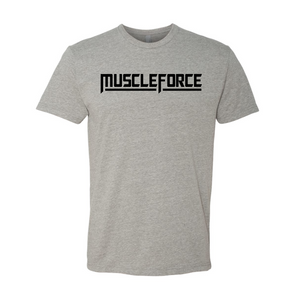 MUSCLEFORCE PREMIUM T-SHIRT GREY