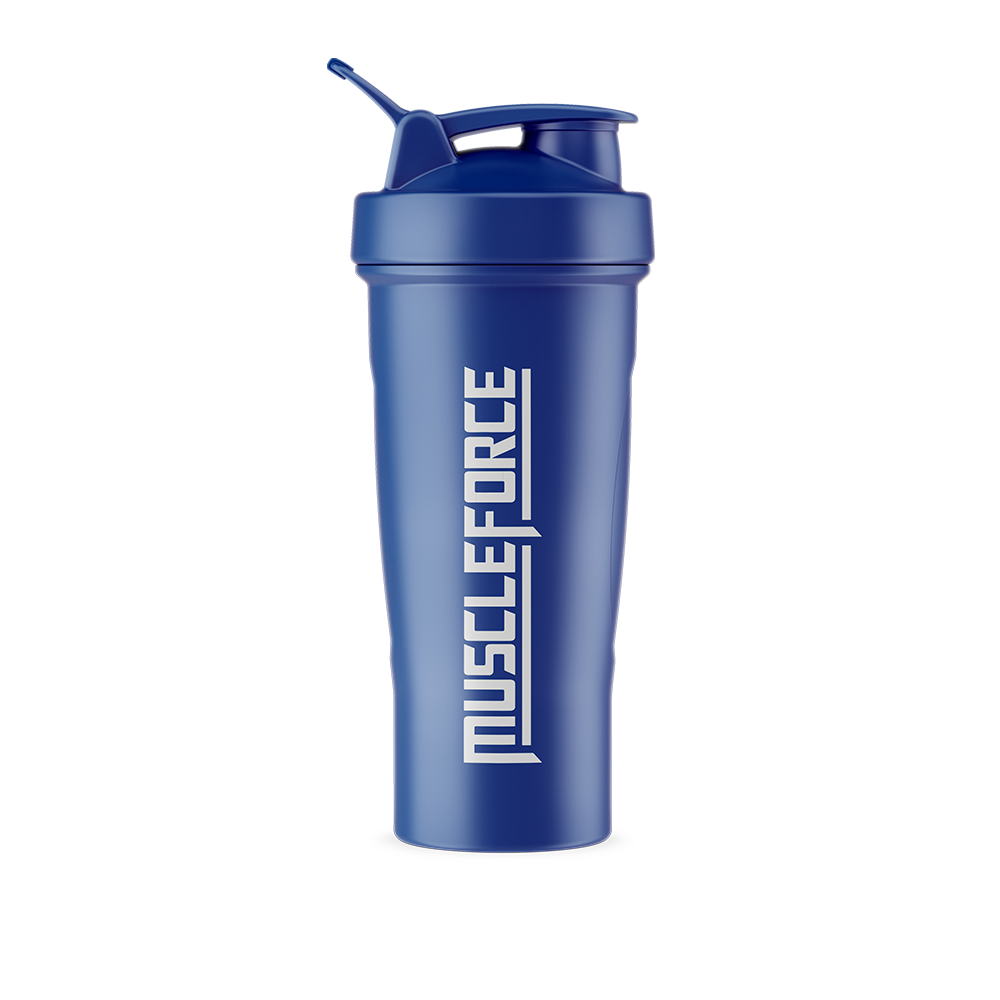 Blue Shaker Bottle