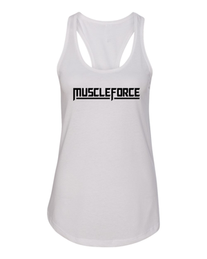 Tank Top- White- For the LADIES