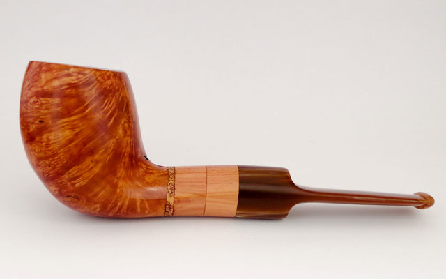 The House Sparrow pipe - Coral Pipes