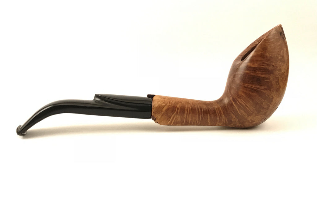 "SMOOTH FREEHAND ""Phalacrocorax Carbo"" - Coral Pipes"