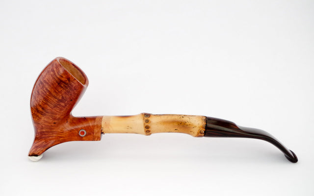 Purple heron pipe - Coral Pipes