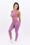 Womens Seamless Leggings (ROSE PINK)