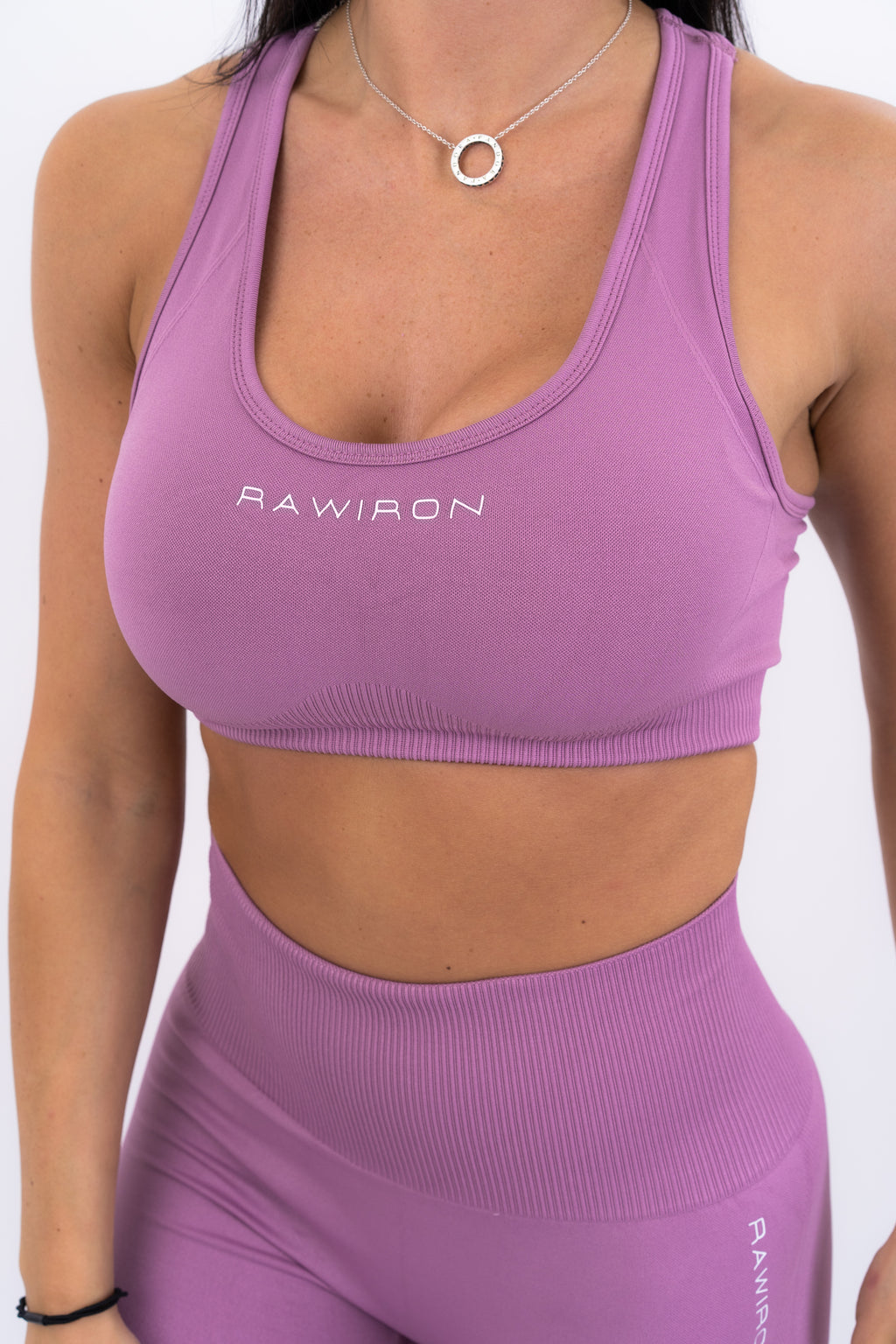Womens Sports Bra (ROSE PINK)