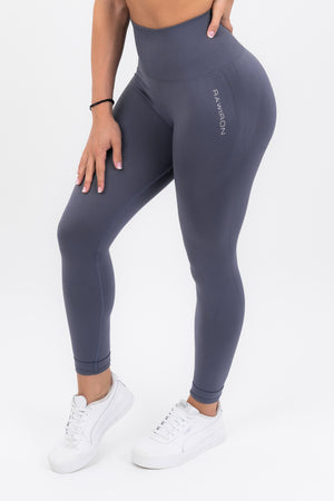 Womens Seamless Leggings (CHARCOAL BLUE)