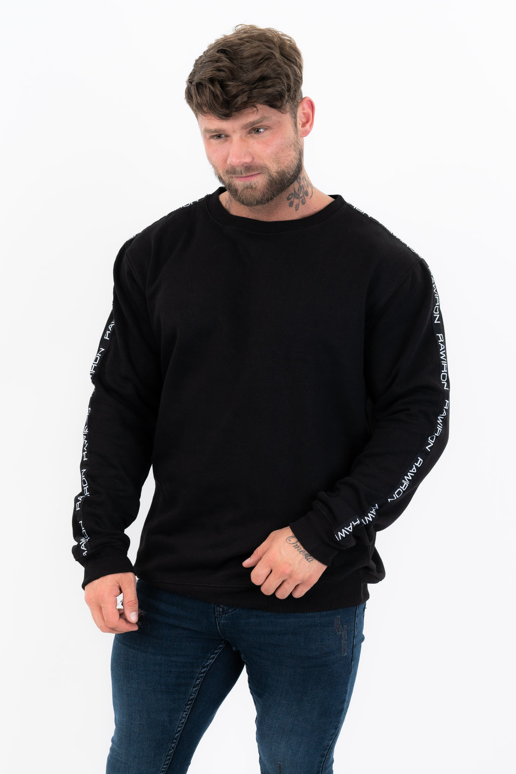 Mens Track Sweatshirt - Black
